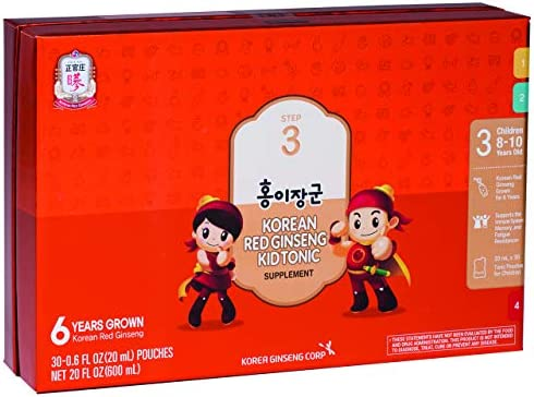 CheongKwanJang KGC Ginseng Tonic For Kids, Step 3
