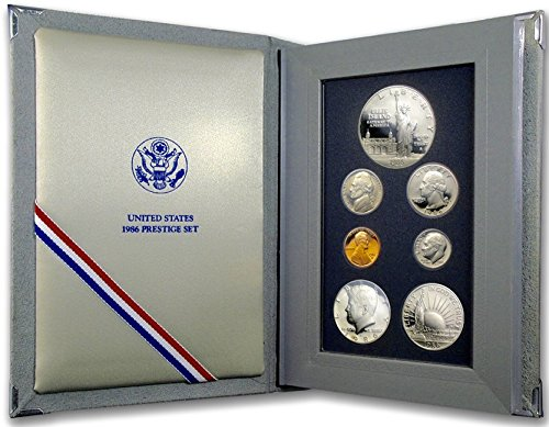 1986 S US Prestige Proof Set 7 Coin set Comes in original US mint packaging Proof