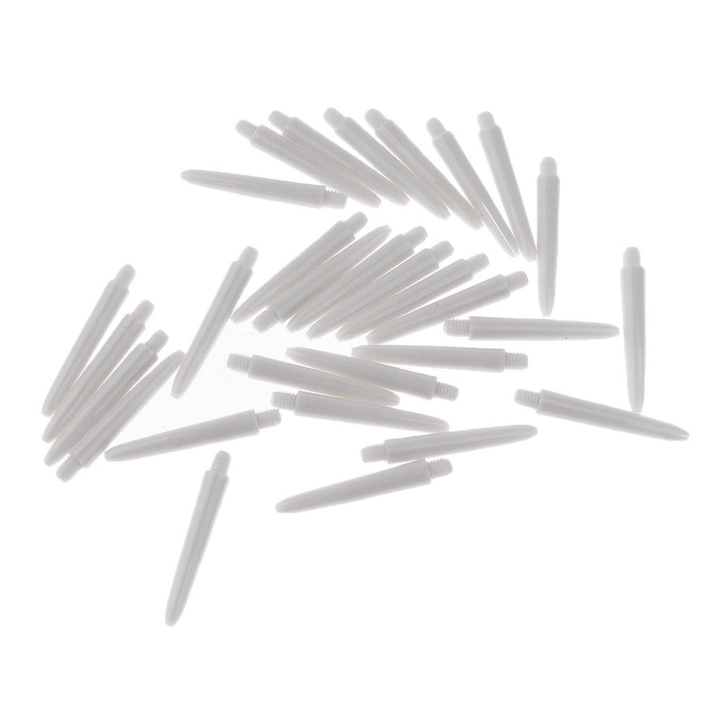 Ejes de Dardo Ejes de V/ástagos Varillas perfeclan 60 Unidades 2BA Ejes de Roscado