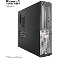 2018 DELL OPTIPLEX 390 DT Desktop Computer, Intel Core I3-2100 3.1GHz, 8GB DDR3, 1TB, DVD, WIFI, HDMI, VGA, Bluetooth 4.0, Windows 10 Professional 64 Bit (Certified Refurbished)