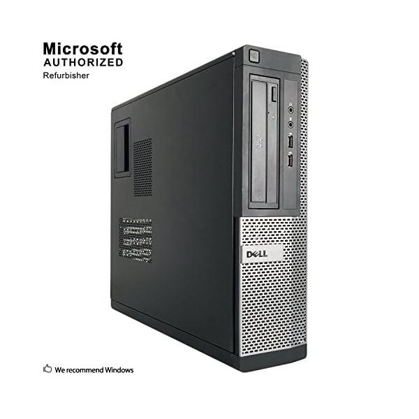 2018 DELL OPTIPLEX 390 DT Desktop Computer, Intel Core I3-2100 3.1GHz, 8GB DDR3, 1TB, DVD, WIFI, HDMI, VGA, Bluetooth 4.0, Windows 10 Professional 64 Bit (Renewed)