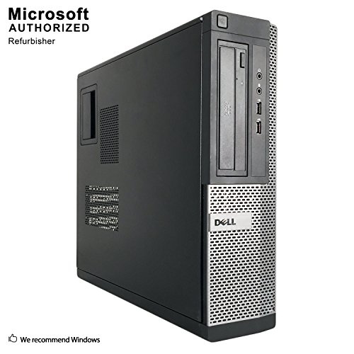 2018 DELL OPTIPLEX 390 DT Desktop Computer, Intel Core I3-2100 3.1GHz, 8GB DDR3, 1TB, DVD, WIFI, HDMI, VGA, Bluetooth 4.0, Windows 10 Professional 64 Bit ()