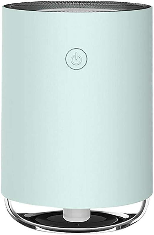 Z-JIN Purificador de aire ambientador aromaterapia lámpara LED con ...