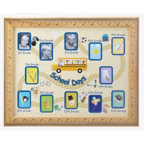 Child Photo Frame - Gifts & Decor School Days Wall Hanging Photo Frame