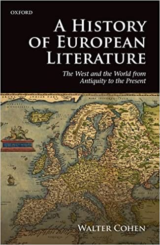 Book A History of European Literature: The West and the World from Antiquity to the Present