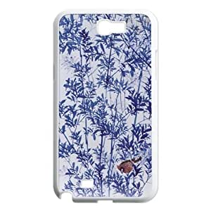 Custom Case for Samsung Galaxy Note 2 N7100 with Personalized Design Chinese ceramics