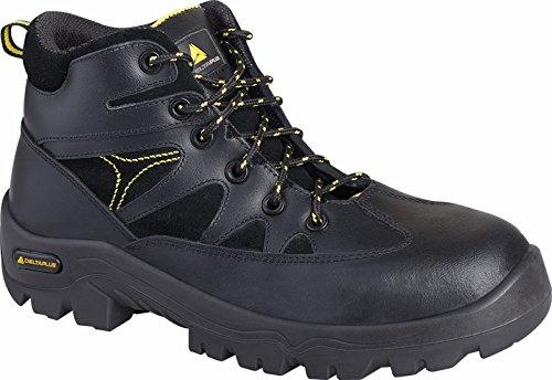 Delta plus calzado - Botas pier flor nubuck s3 hro src 41 negro
