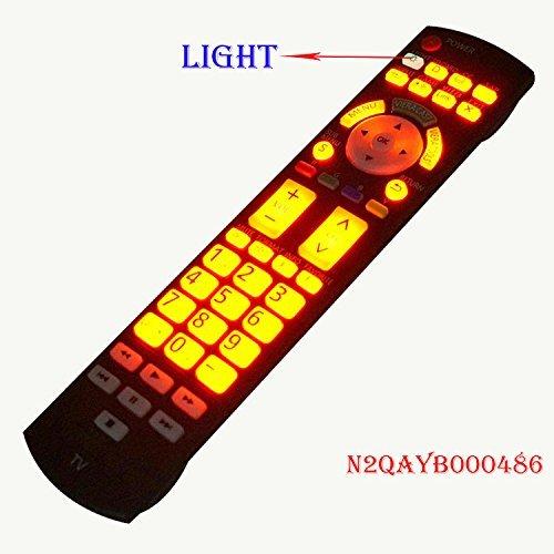 Price comparison product image Original For Panasonic LED LCD TV TH32LRU20 37LRU2042 mando garaje luminous remote control N2QAYB000486