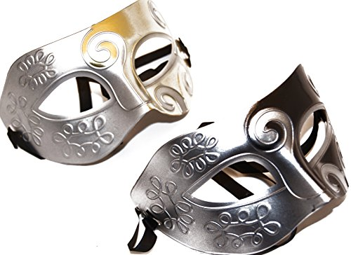 Gold/ (His And Hers Masquerade Ball Masks)
