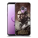 Official HBO Game of Thrones Jon Snow Character Quotes Hard Back Case for Samsung Galaxy S9