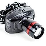 By-Grizzly Peak Running Headlamp, Zoom Batteries Flashlight Camping Led Headlamp Waterproof