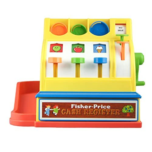 Fisher-Price Classics Retro Cash Register