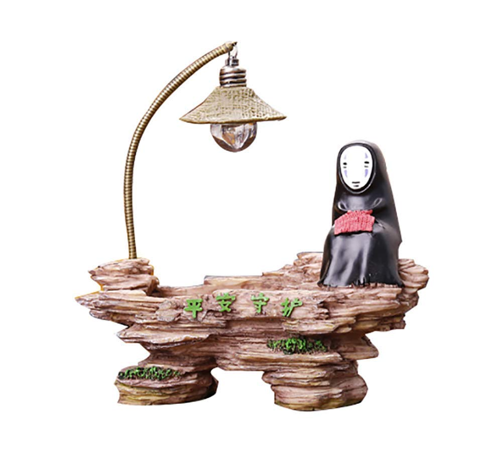 Spirited Away Kaonashi No Face Man Night Light Best Gift Home Decor Craft Decorative Lights