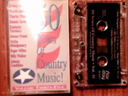 50 Years Of Country Music! Volume Thirty-Five 35 rare audio cassette tape