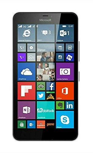 Microsoft Lumia 640 XL Unlocked GSM Smartphone - Black (Renewed)