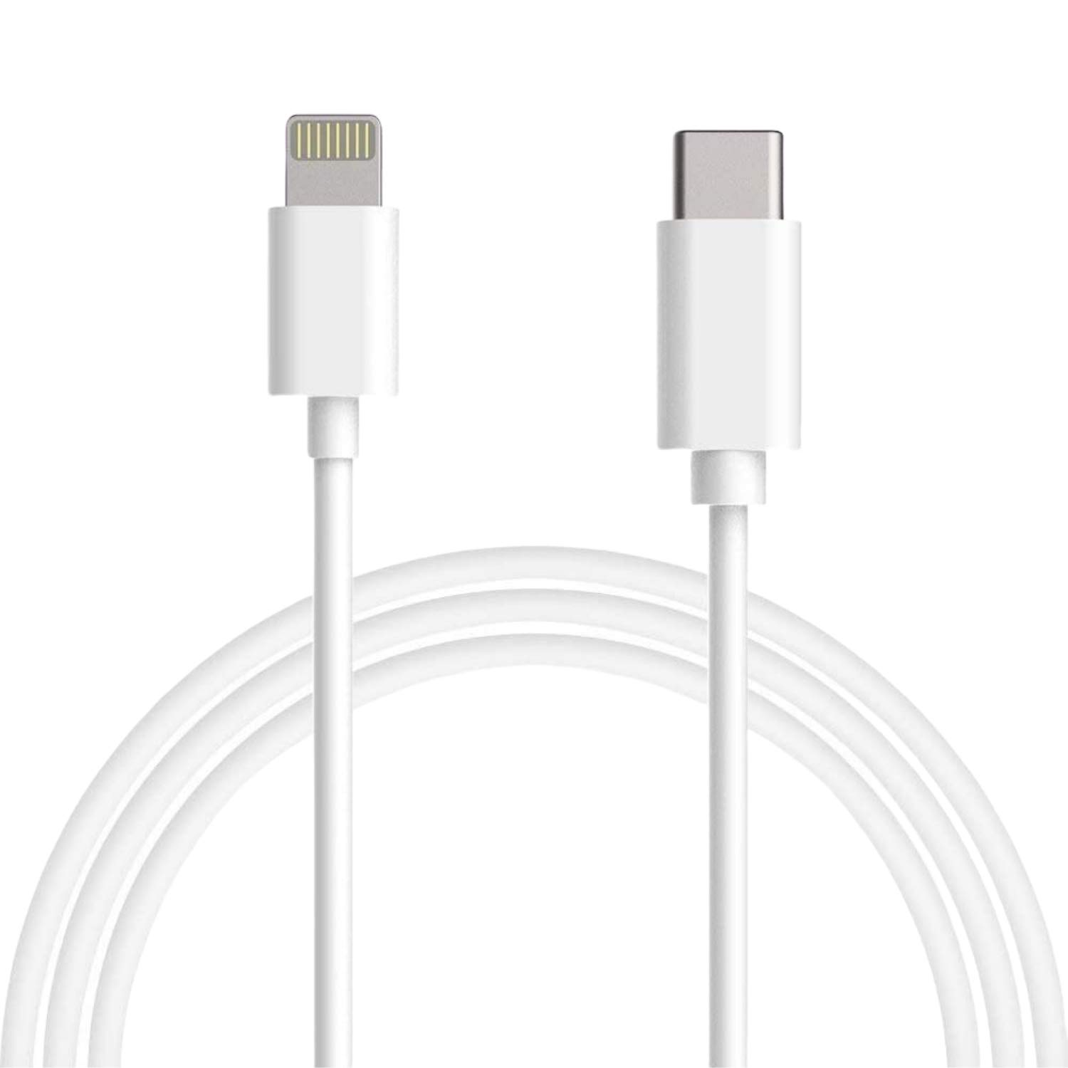 USB C to Lightning Cable 6 FT - Apple MFi Certified Lightning to USB-C Fast Charging Cable Compatible with iPhone 11/11 Pro/11 Pro Max/X/XS/XR/XS/8/8 Plus, Supports Power, Sync, Made to Last (1 Pack)
