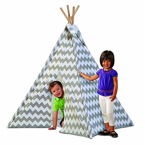 Discovery Kids Canvas Tee Pee Chevron product image