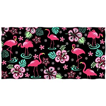 Modern Design Beach Towel Popular Pink Flamingos 27 x 54 Inches hot sale 2017
