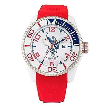 Reloj de Hombre U.S. Polo Assn. USP4273RD (40 mm): Amazon.es: Relojes