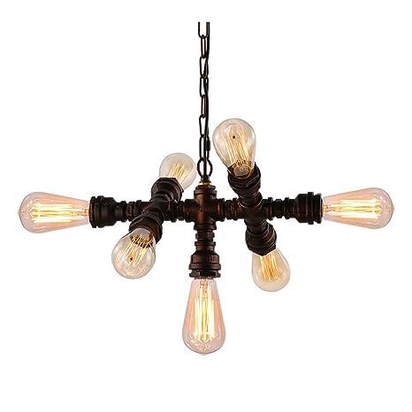 Lámpara de techo moderna y creativa con diseño retro, para ...
