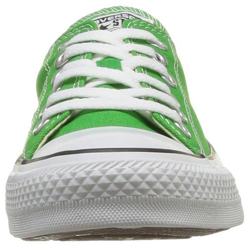 Converse Chuck Taylor All Star Season Ox 015760-610-123 - Zapatillas de lona para unisex-adultos, color azul, talla 42 verde - Grün (VERT POMME)