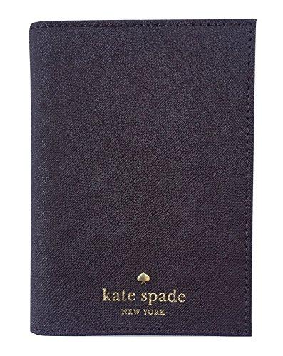 Mahogany Passport Holder (Kate Spade New York Mikas Pond Leather Passport Holder (Mahogany))