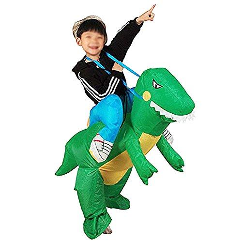 Equino Gonfiabile Costume Babbo Natale Cervo Vestito Da Equitazione Natale Decration Vestito Divertente Dinosauro Unicorno Partito Cosply Bambino Dinosauro