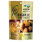 Go Naturally Hard Candies, Ginger, Organic, Pack of 6