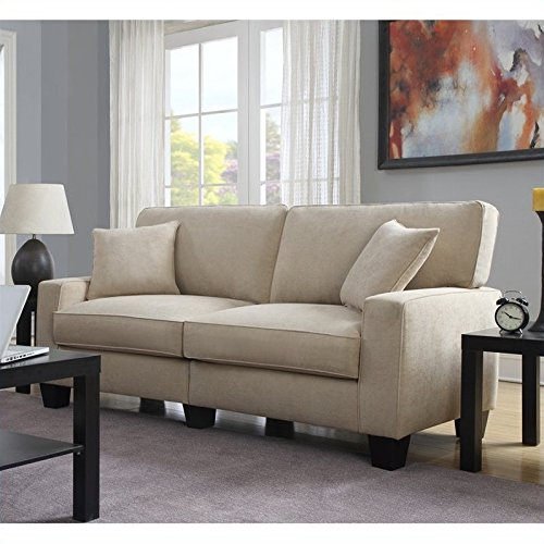 Linen Couch - 1