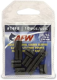 American Fishing Wire Double Barrel Crimp Sleeves, 100-Piece