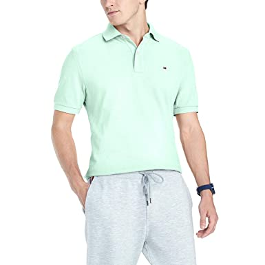 90f9f3ae Image Unavailable. Image not available for. Color: Tommy Hilfiger Men's  Custom-Fit Ivy Polo ...