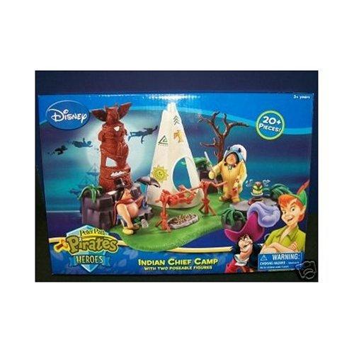 Disney Peter Pan Heroes Indian Chief Camp