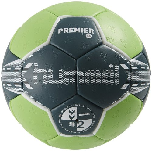 Hummel Unisex Handball 1,5 Premier, green/blue, 3, 91-724-6401