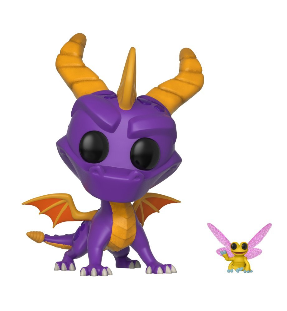 Funko Pop and Buddy Dragon-Spyro and Sparx Collectible Figure, Multicolor 32763