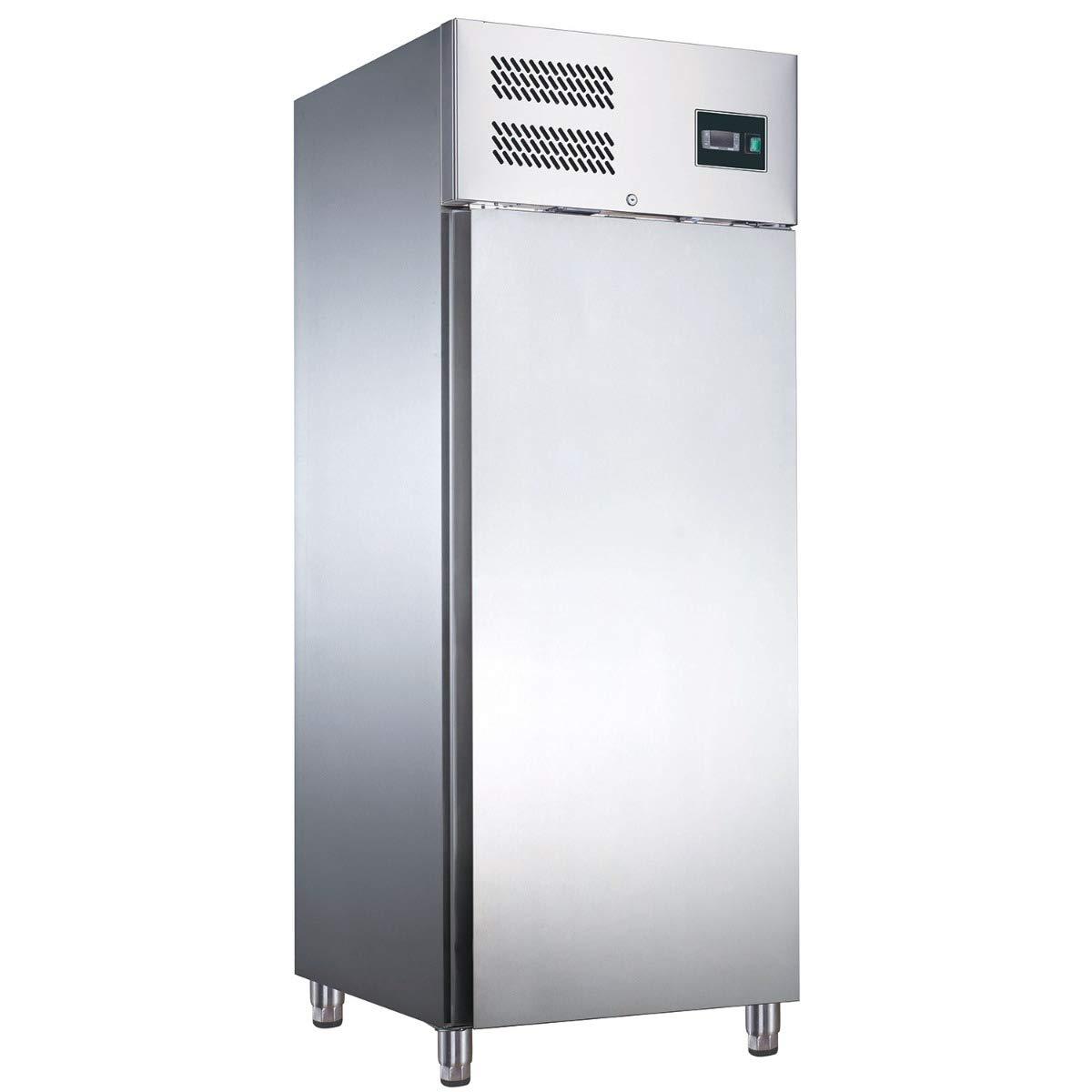 ZORRO ZGN 650 BT - Congelador de acero inoxidable con puerta ...