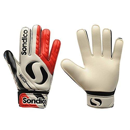 ce08696c308 Sondico Kids Match Junior Boys Goalkeeper Gloves Football Training Sports   Amazon.co.uk  Sports   Outdoors
