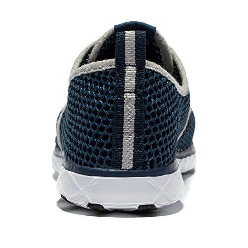 Secado Exterior Cordones Hombres Azul Zapatos Rápido De Aqua Daillor 1gwq651