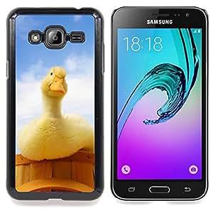 SKCASE Center / Funda Carcasa protectora - Pato curioso;;;;;;;; - Samsung Galaxy J3 GSM-J300