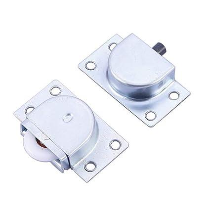 rzdeal 24 mm de diámetro muebles rodillo puerta corredera rueda para armario armario armario ventana (