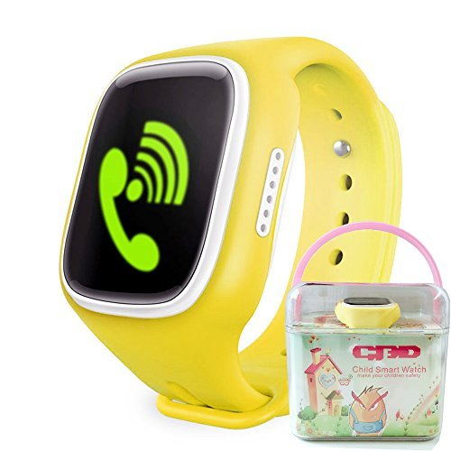 GBD Touch Screen GPS Tracker Smartwatch