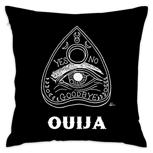 NEWcolor Rest Pillow, Office Cushion, Bed Decoration, Art Pillow Ouija Board Planchette Dark Arts