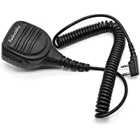 Radioddity RD-203 Waterproof Remote Speaker Mic for Radioddity GD 77 BaoFeng DM-5R DMR BaoFeng TYT WouXun Kenwood Two-Way Radio Walkie Talkie Transceiver, UV5RTP GT-3TP GT-5TP BF-F8HP UV-82HP UV8000E