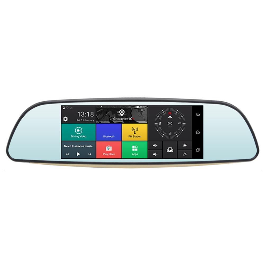 Childplaymate Car Mirror Monitor E515 6.5'' 1080P Dash Cam Video Android 5.0 Recorder Camera 3G Mirror