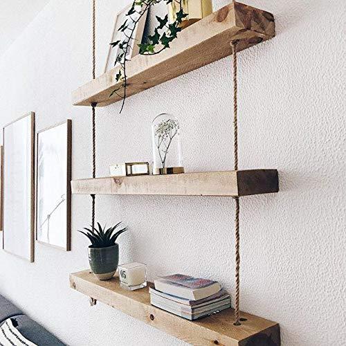 étagère murale pas cher bois massif pour la cuisine