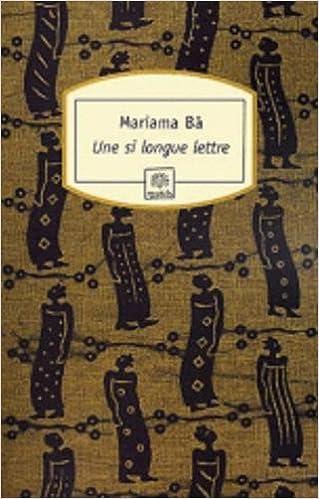 SI MARIAMA LONGUE UNE PDF BA LETTRE TÉLÉCHARGER DE