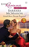Greek Boss, Dream Proposal, Barbara Mcmahon, 037318459X