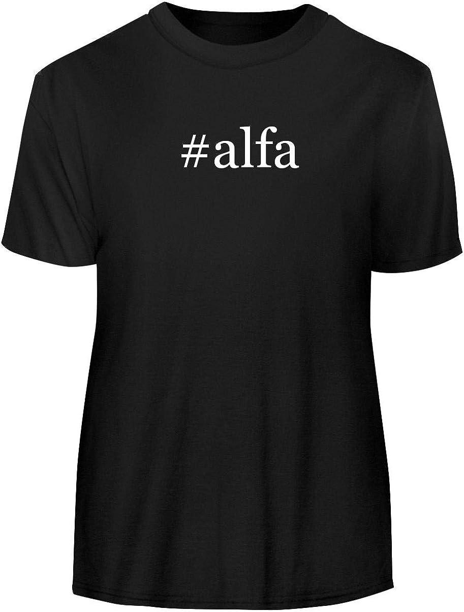 #alfa - Hashtag Men's Funny Soft Adult Tee T-Shirt 51-gLat2BuDL