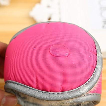 Winter Warm Earmuffs Women Adjustable Ear Covers Wrap around Fleece Ear Warmers Azue ERM2591NV1