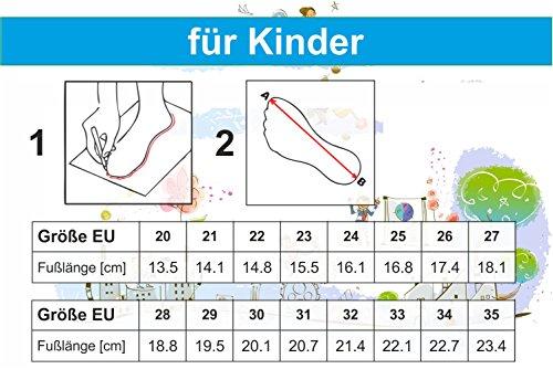 Für Gelb Krexus 20-35 Unisex-gummistiefel Gr Und Regenstiefel Jungen Mädchen Bunte Pvc Kinder Gummistiefel