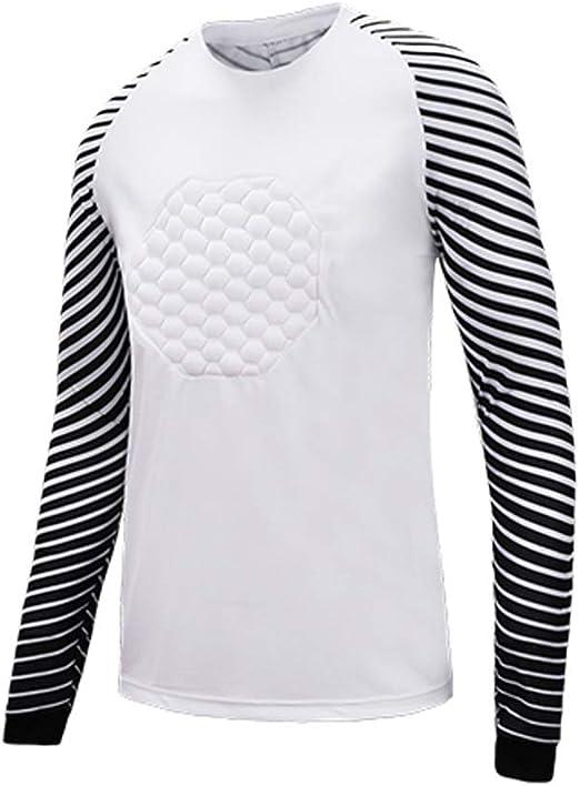 Fútbol Americano Traje Portero Uniforme Futbol Jerseys Camisa Dragón Manga Larga (Color : Light Gray, Size : XXXL): Amazon.es: Hogar